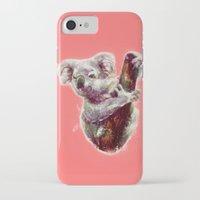 koala iPhone & iPod Cases featuring Koala by beart24
