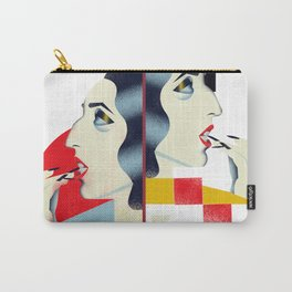 Famous people in a bauhaus style - Rossy de Palma Carry-All Pouch