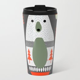 Christmas bears and birds Travel Mug