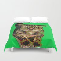will ferrell Duvet Covers featuring Ferrell by gretzky