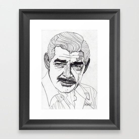 Clark Gable Framed Art Print