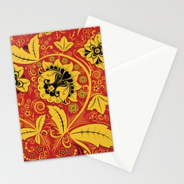 Russian traditional folk Stationery Cards