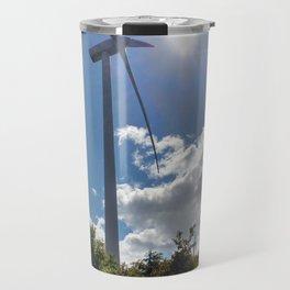Wind Farm in the Sun Travel Mug