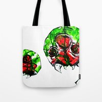 metroid Tote Bags featuring Metroid by CJ Draden