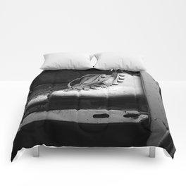 Vintge Skates-B&W Comforters