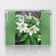 Fresh in White Laptop & iPad Skin
