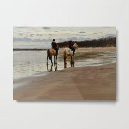 Seacliff Beach Metal Print