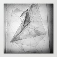 triangle Canvas Prints featuring triangle by Katekima