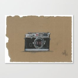 Diddie Doodle the Camera Canvas Print