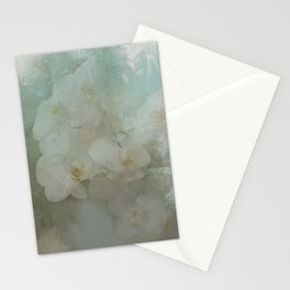 Abstract Tropical Flora Stationery Cards