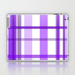 Shades of Purple and White Laptop & iPad Skin