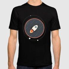 Rocket Mens Fitted Tee MEDIUM Black