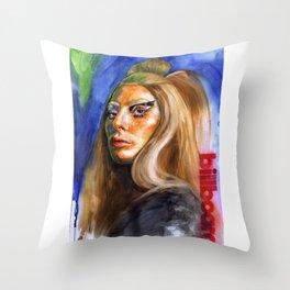 Women In Music Throw Pillow