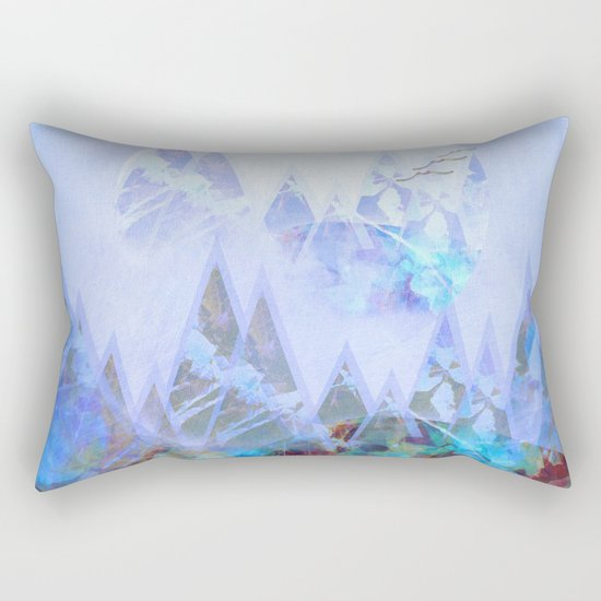 Rising Moon Rectangular Pillow
