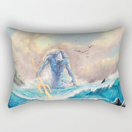 Poseidon Rectangular Pillow