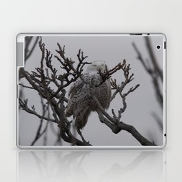 Snowy Owl in Tree Laptop & iPad Skin