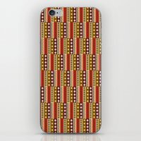 africa iPhone & iPod Skins featuring Africa by Okopipi Design