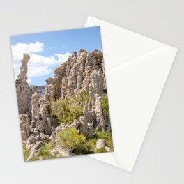 tufas and green Stationery Cards