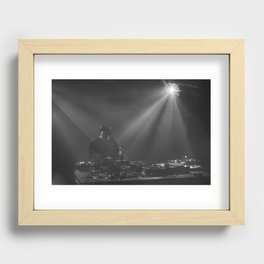 In the mix! Recessed Framed Print