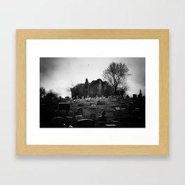 Abandoned Silence Framed Art Print