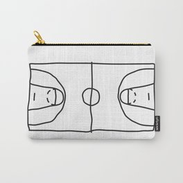 Basketball in lines Carry-All Pouch