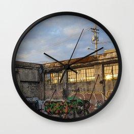 Veil Wall Clock