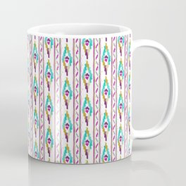 Mediterranean Ikat Sun and Summer Vibes from Mallorca Coffee Mug