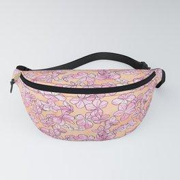 Plumbago Floral Pattern | Pink Fanny Pack