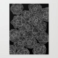In Bloom (b&w) Canvas Print