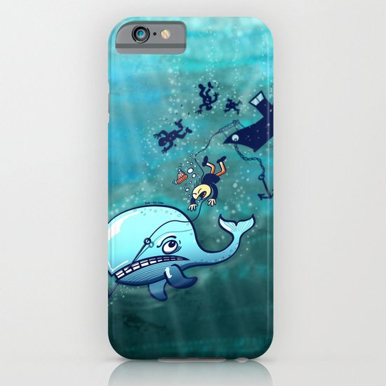 Whales are Furious! iPhone & iPod Case
