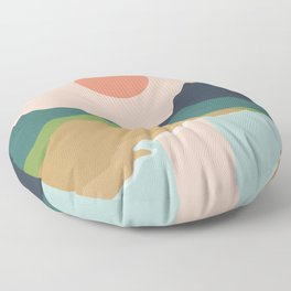 Sun reflection Floor Pillow