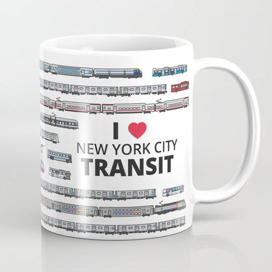 The Transit of Greater New York City Mug