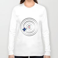 chicago bulls Long Sleeve T-shirts featuring Bulls Eye by Nivedhna