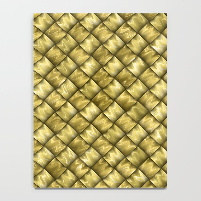 Patchwork Gold Notebook