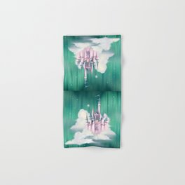 Star Castle In The Clouds Hand & Bath Towel