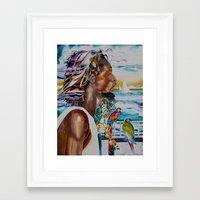jamaica Framed Art Prints featuring jamaica 1 by CarolBoerckel