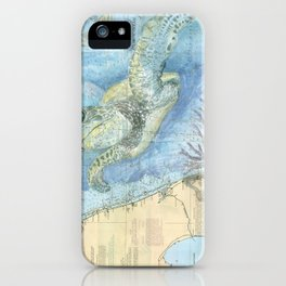 West Palm Beach Turtle iPhone Case