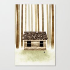 Lost to the Trees Canvas Print