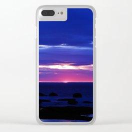 Dusk on the Sea Clear iPhone Case