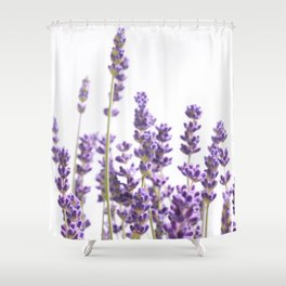 Purple Lavender #1 #decor #art #society6 Shower Curtain