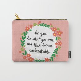Unbreakable Carry-All Pouch