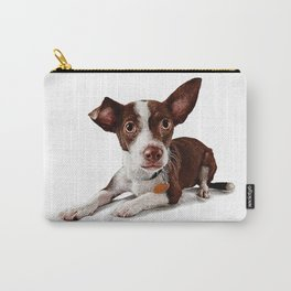 Cute puppy waiting to be adopted Carry-All Pouch