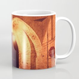 Night in Downtown Montefiore dell'Aso (2 of 2 color choices) Coffee Mug