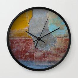 Pompeian fresco Wall Clock