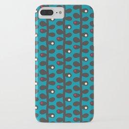 Like a Leaf [blue] iPhone Case