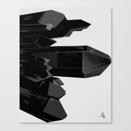 Crystal Cluster, no. 4 Canvas Print