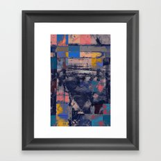 disquiet twenty (chess with holofernes) Framed Art Print