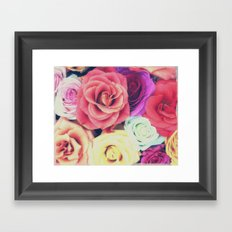 RoseLove Framed Art Print