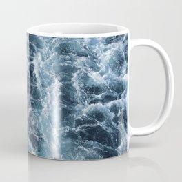 Sea Blue Wake - Pacific Ocean Coffee Mug