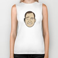 lawyer Biker Tanks featuring Faces of Breaking Bad: Saul Goodman by Rob Barrett — Nice Hot Cuppa